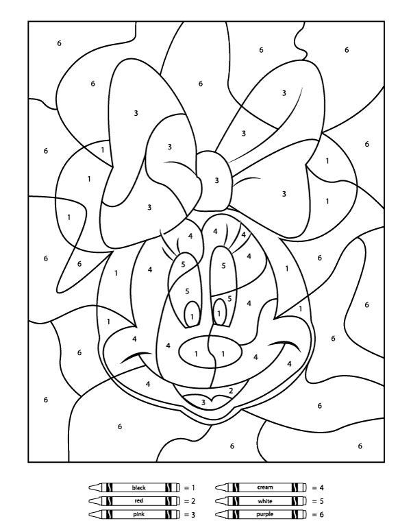 Best ideas about Free Printable Coloring Sheets For Boys Animal . Save or Pin Your Children Will Love These Free Disney Color By Number Now.