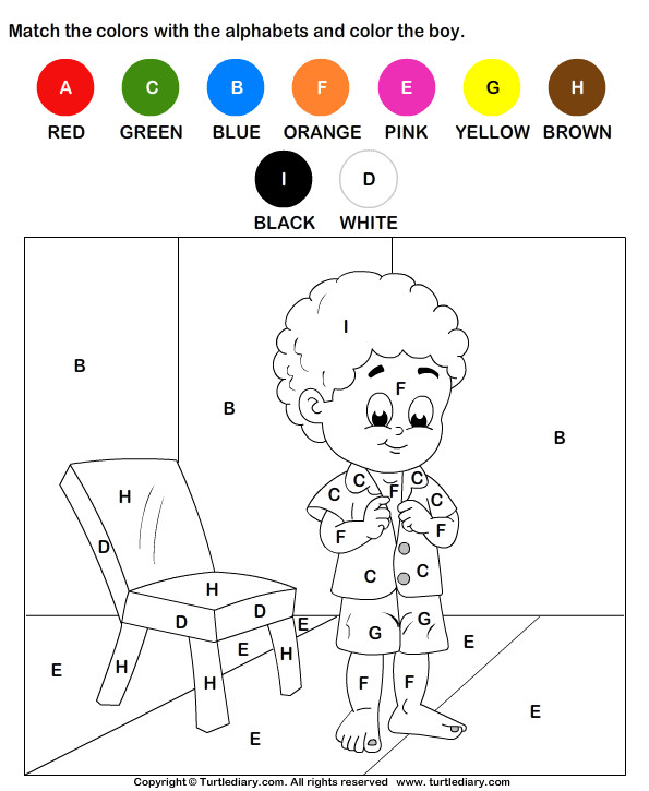 Best ideas about Free Printable Coloring Sheets For Preschoolers Alphabets . Save or Pin Alphabet Coloring Worksheet Turtle Diary Now.