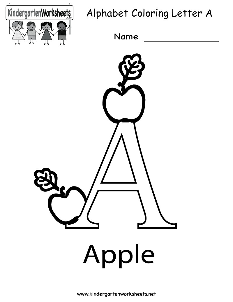 Best ideas about Free Printable Coloring Sheets For Preschoolers Alphabets . Save or Pin Forex UK تعلم حرف A a Now.