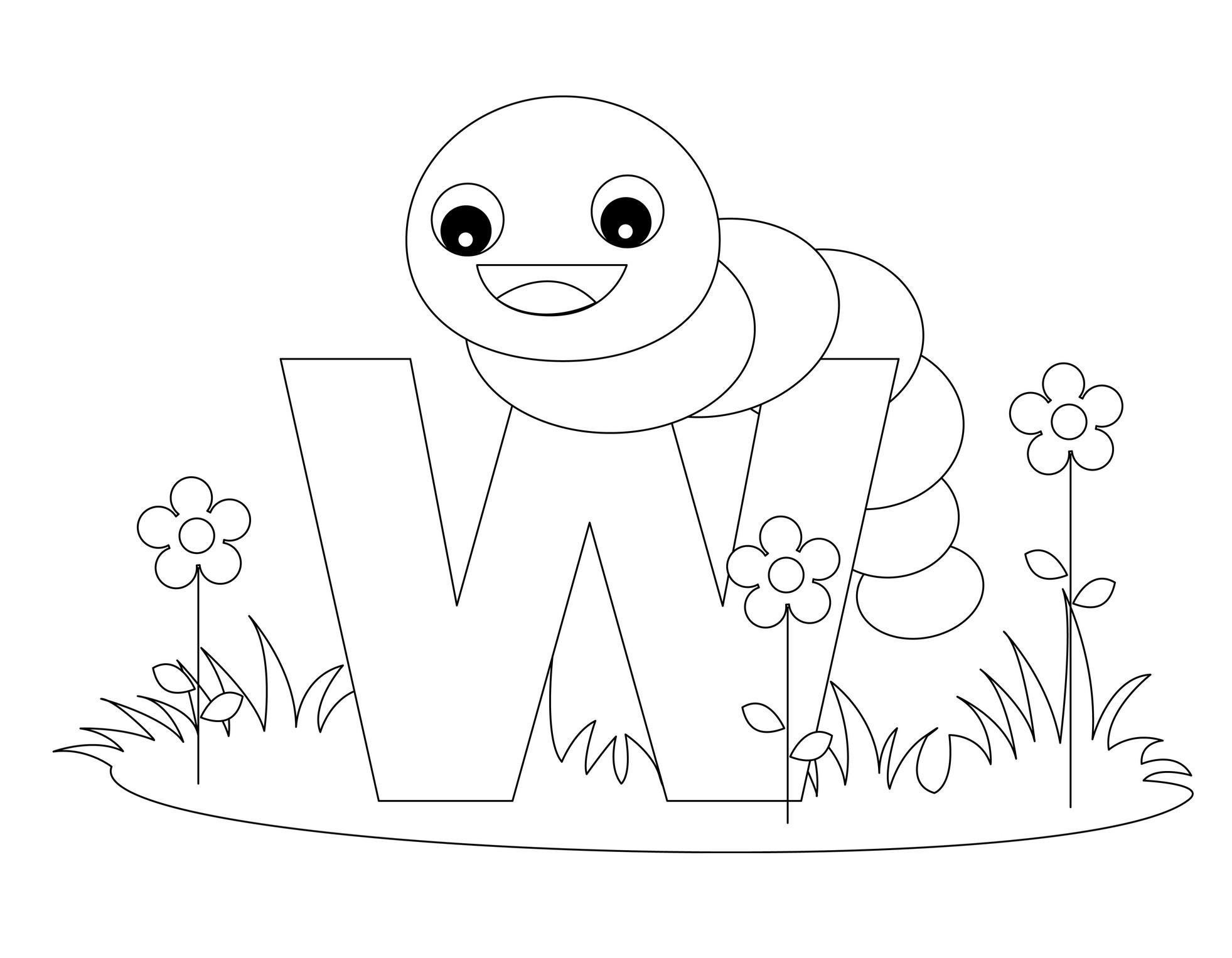 Best ideas about Free Printable Coloring Sheets Letters . Save or Pin Free Printable Alphabet Coloring Pages for Kids Best Now.