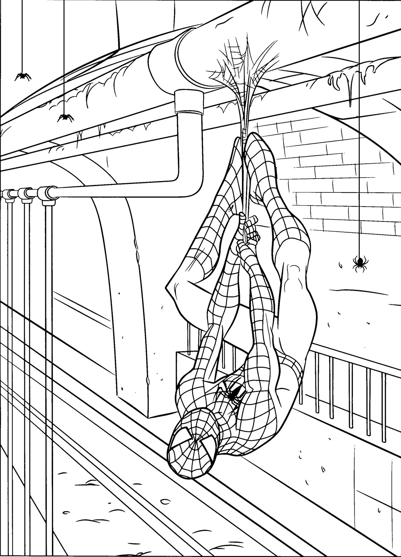Best ideas about Free Printable Coloring Sheets Of Spiderman . Save or Pin Free Printable Spiderman Coloring Pages For Kids Now.