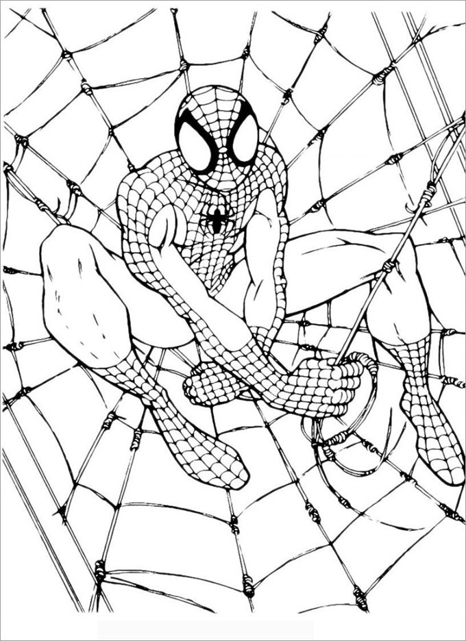Best ideas about Free Printable Coloring Sheets Of Spiderman . Save or Pin 30 Spiderman Colouring Pages Printable Colouring Pages Now.