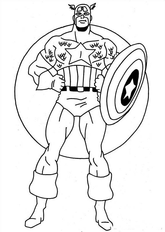 Best ideas about Free Printable Coloring Sheets Superheros . Save or Pin Free Printable Superhero Now.