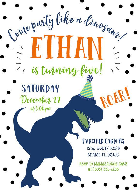 Best ideas about Free Printable Dinosaur Birthday Invitations . Save or Pin Best 25 Dinosaur birthday invitations ideas on Pinterest Now.