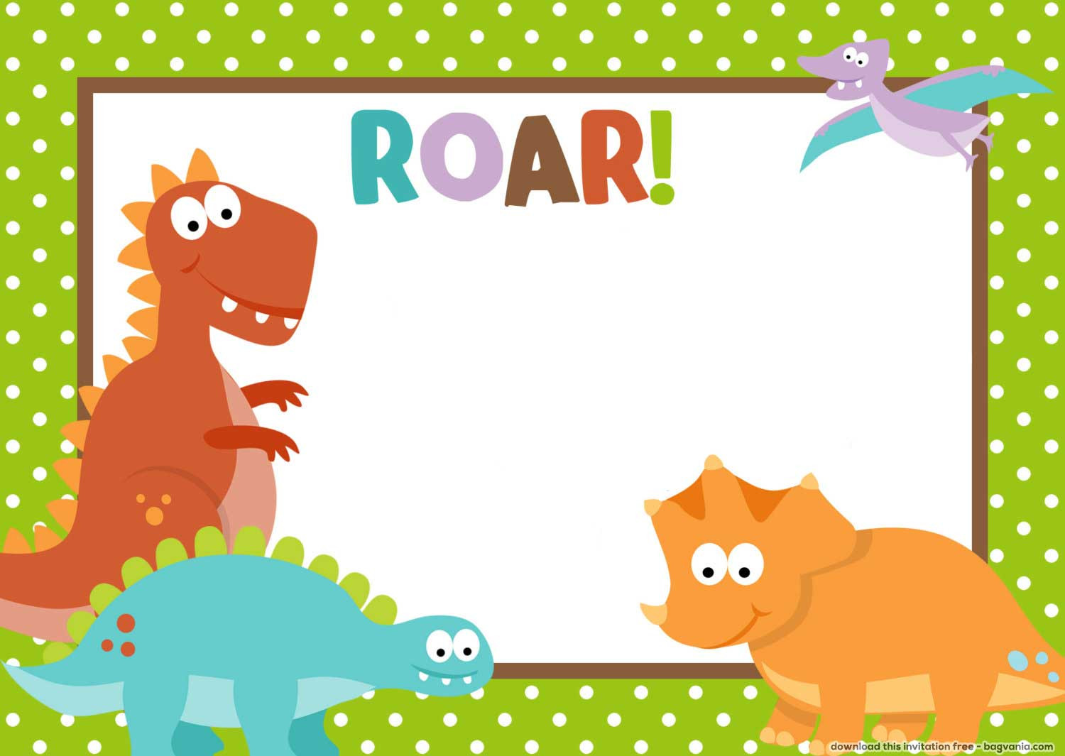 Best ideas about Free Printable Dinosaur Birthday Invitations . Save or Pin FREE Dinosaur Birthday Invitations – FREE Printable Now.