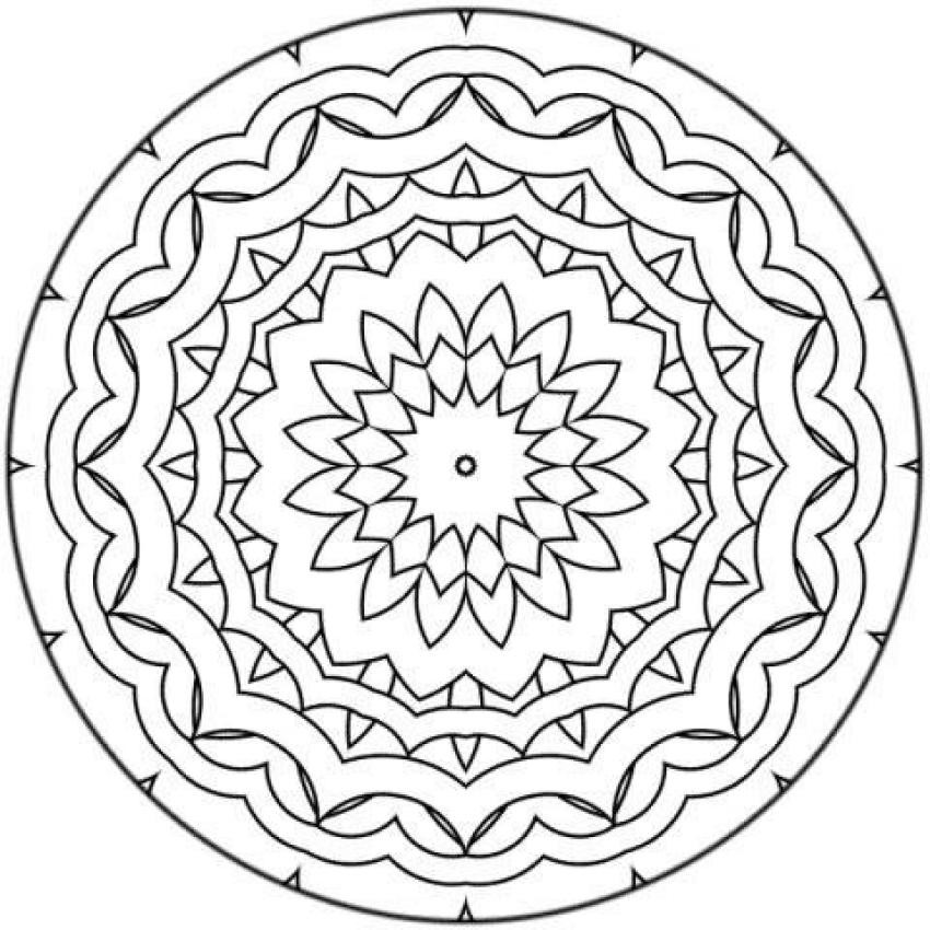 Best ideas about Free Printable Mandala Coloring Pages For Kids . Save or Pin Mandala 17 coloring pages Hellokids Now.