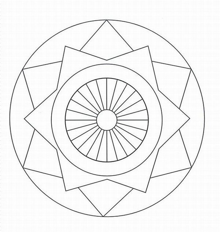 Best ideas about Free Printable Mandala Coloring Pages For Kids . Save or Pin Free Mandala Coloring Pages For Adults Coloring Home Now.