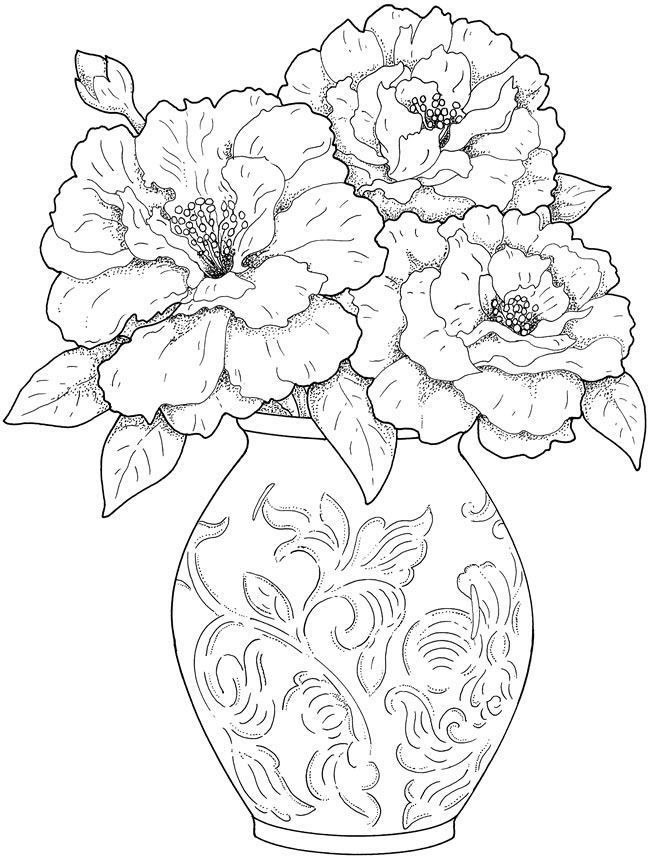 Best ideas about Free Printable Of Roses Coloring Pages For Girls Pinterest. . Save or Pin Flower Coloring Pages for Adults Best Coloring Pages For Now.