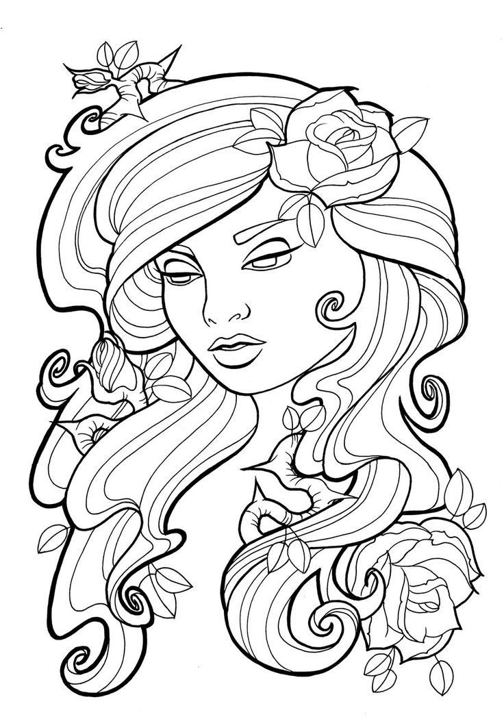 Best ideas about Free Printable Of Roses Coloring Pages For Girls Pinterest. . Save or Pin 30 Rose Coloring Pages ColoringStar Now.