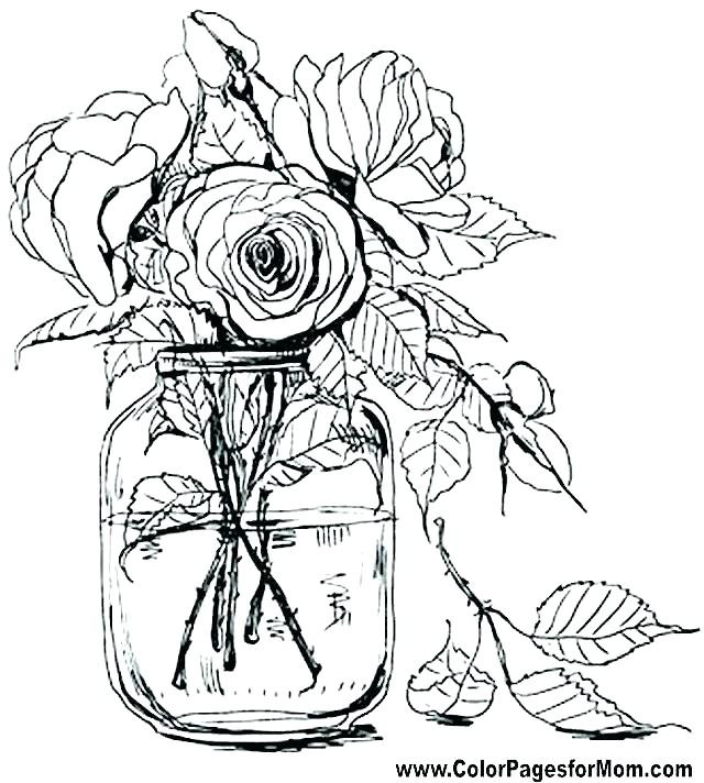 Best ideas about Free Printable Of Roses Coloring Pages For Girls Pinterest. . Save or Pin Magnolia Coloring Page at GetColorings Now.