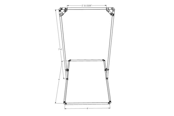 Best ideas about Free Standing Pull Up Bar DIY . Save or Pin DIY Free Standing Pull Up Bar Now.
