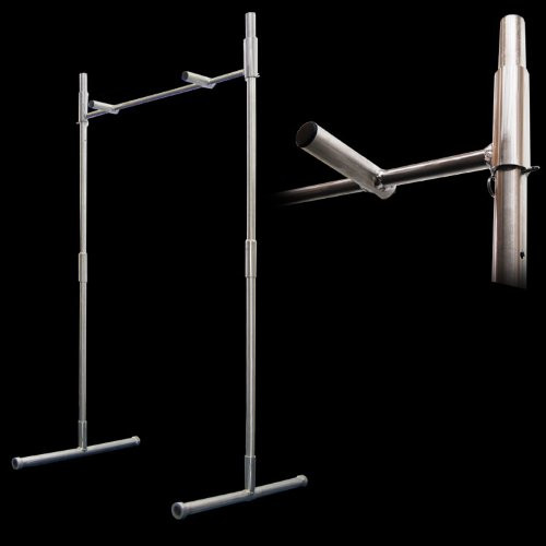 Best ideas about Free Standing Pull Up Bar DIY . Save or Pin All in e Trapeze Free Standing Pull Up Bar Now.