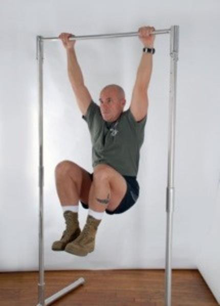 Best ideas about Free Standing Pull Up Bar DIY . Save or Pin Standard Pullup Bar TrapezeRigging Now.