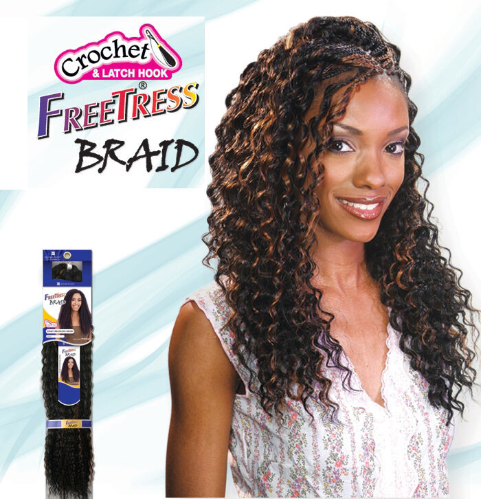 Best ideas about Freetress Deep Twist Crochet Hairstyles . Save or Pin Freetress Premium Synthetic Hair Braid Crochet Deep Now.
