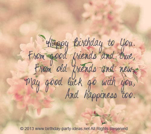 Best ideas about Friends Birthday Quotes . Save or Pin 30 Meaningful Most Sweet Happy Birthday Wishes Now.