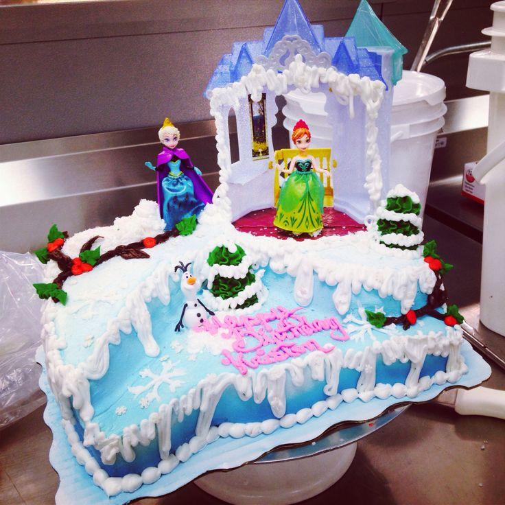 Best ideas about Frozen Birthday Cake Walmart . Save or Pin Disney Frozen Cake signature sheet cake Now.