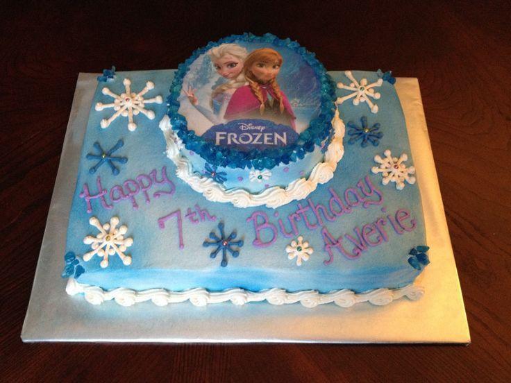 Best ideas about Frozen Birthday Cake Walmart . Save or Pin Best 25 Anna frozen cake ideas on Pinterest Now.