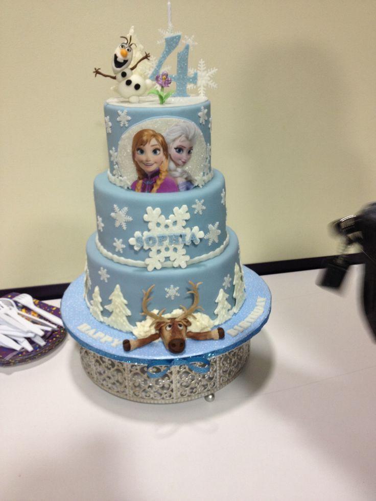 Best ideas about Frozen Birthday Cake Walmart . Save or Pin 112 best frozen birthday images on Pinterest Now.