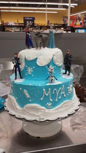 Best ideas about Frozen Birthday Cake Walmart . Save or Pin 88 best images about Lizzy s cake on Pinterest Now.
