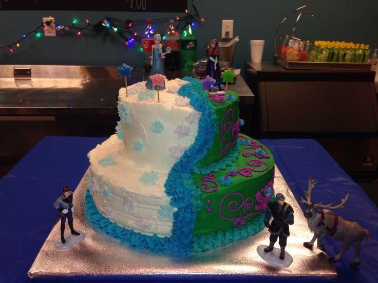 Best ideas about Frozen Birthday Cake Walmart . Save or Pin disneys frozen ice cream cakes Now.