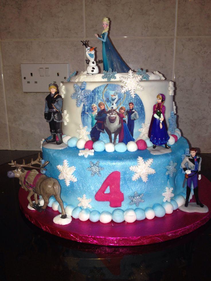 Best ideas about Frozen Birthday Cake Walmart . Save or Pin 17 Best images about Frozen cakes on Pinterest Now.