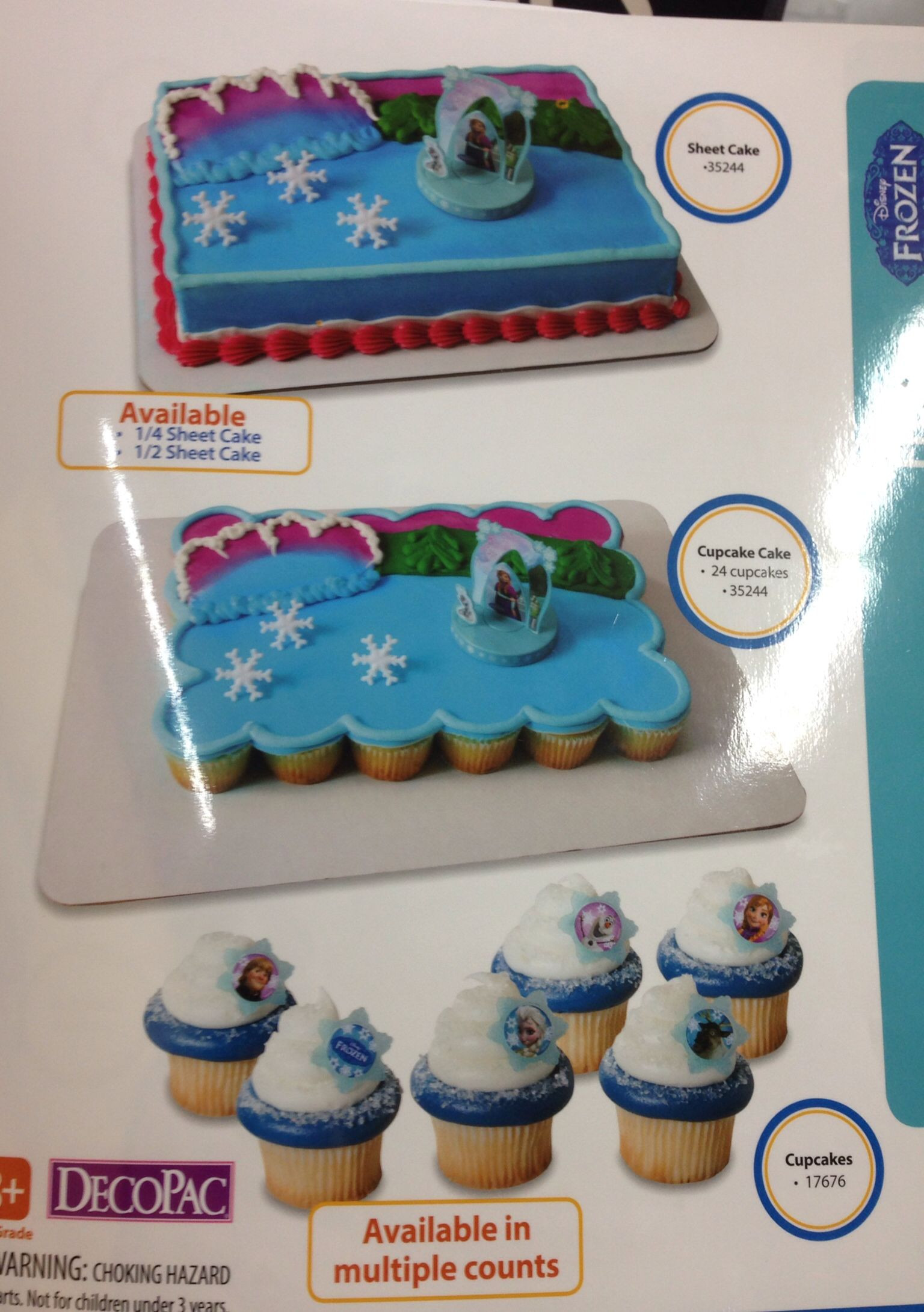 Best ideas about Frozen Birthday Cake Walmart . Save or Pin Frozen cake and cupcakes at Walmart Now.