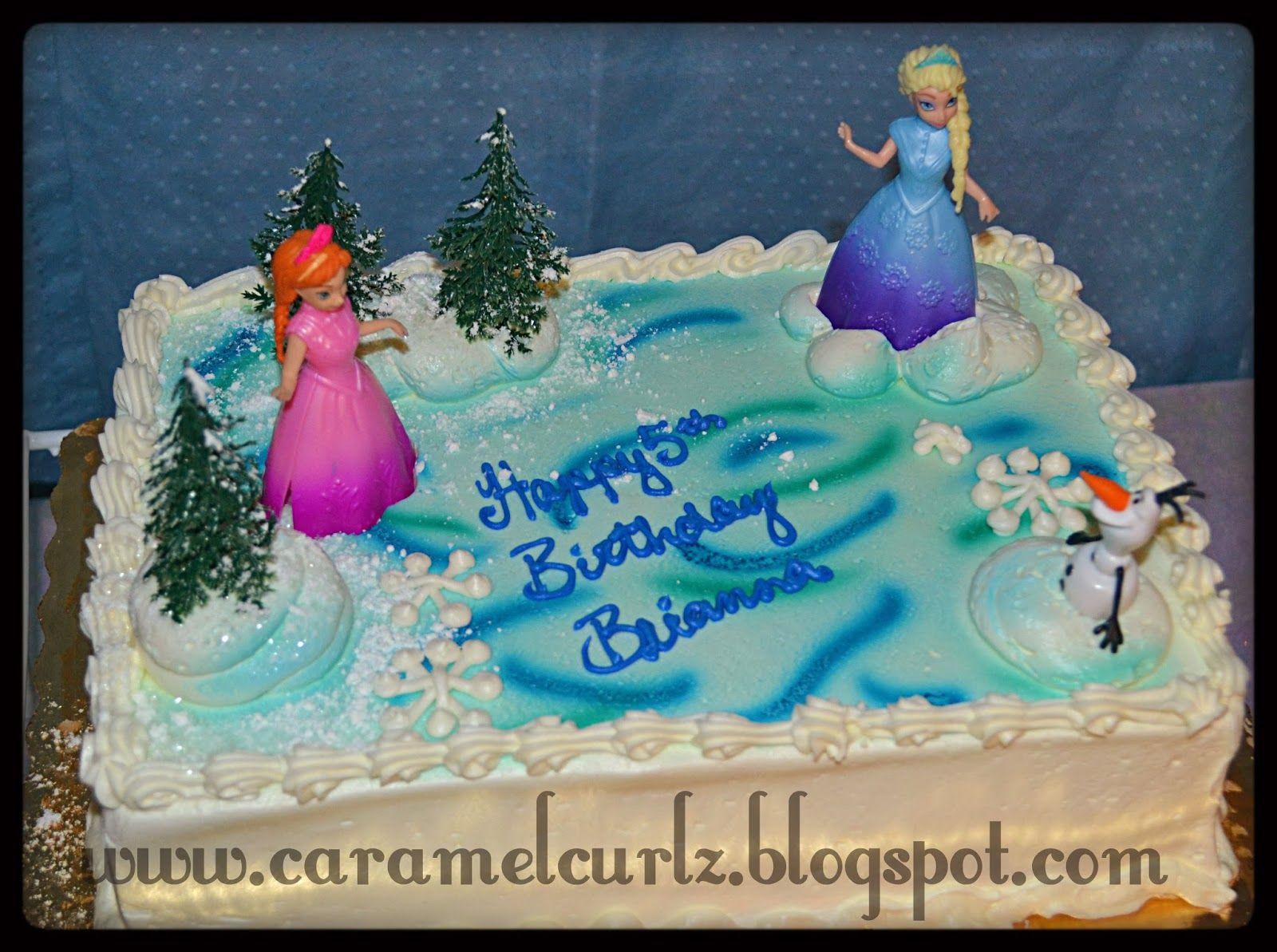 Best ideas about Frozen Birthday Cake Walmart . Save or Pin Caramel Curlz & Swirls Frozen 5th Birthday Celebration Now.