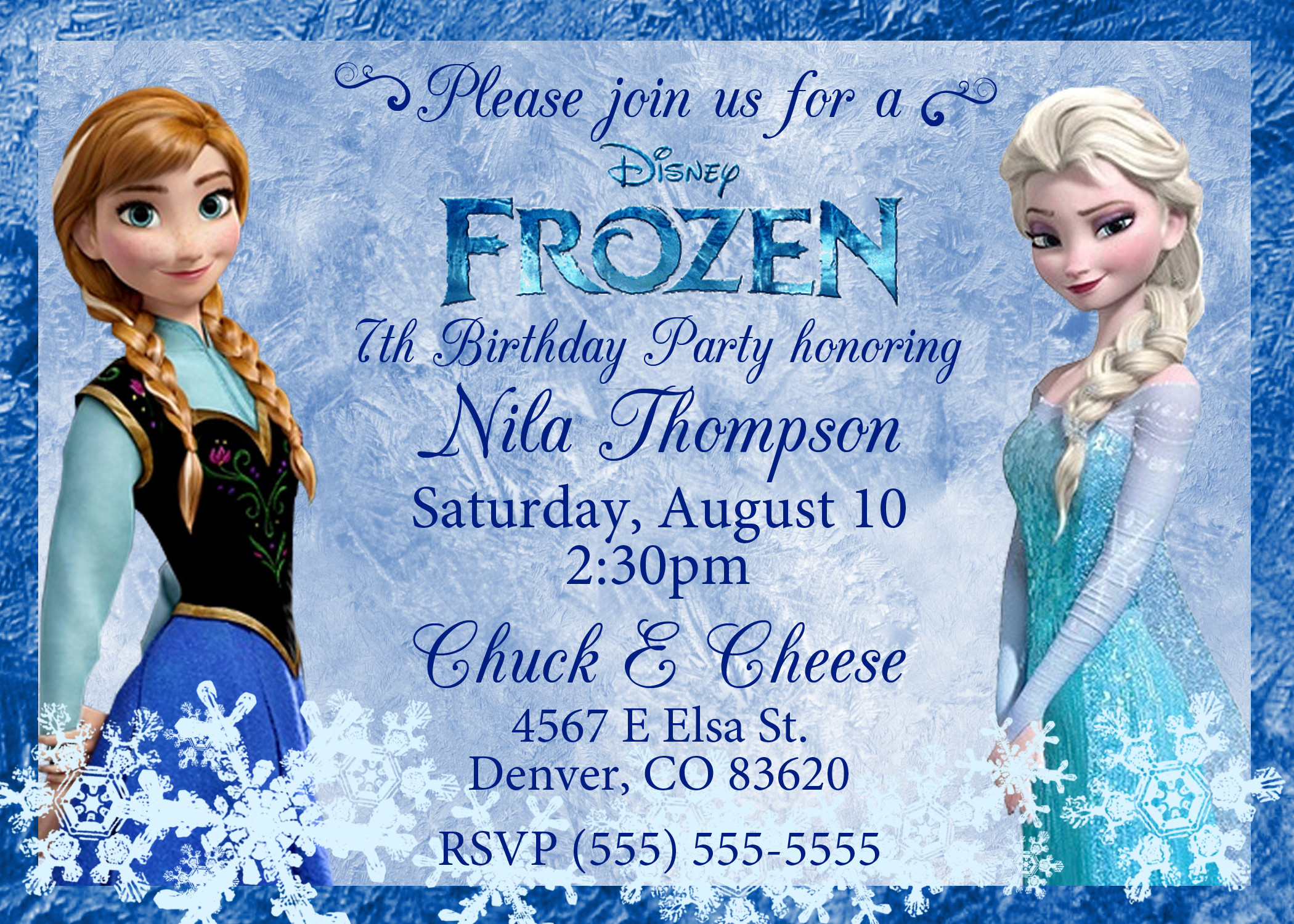 Best ideas about Frozen Birthday Party Invitations . Save or Pin Frozen 2013 Birthday Invitation Now.