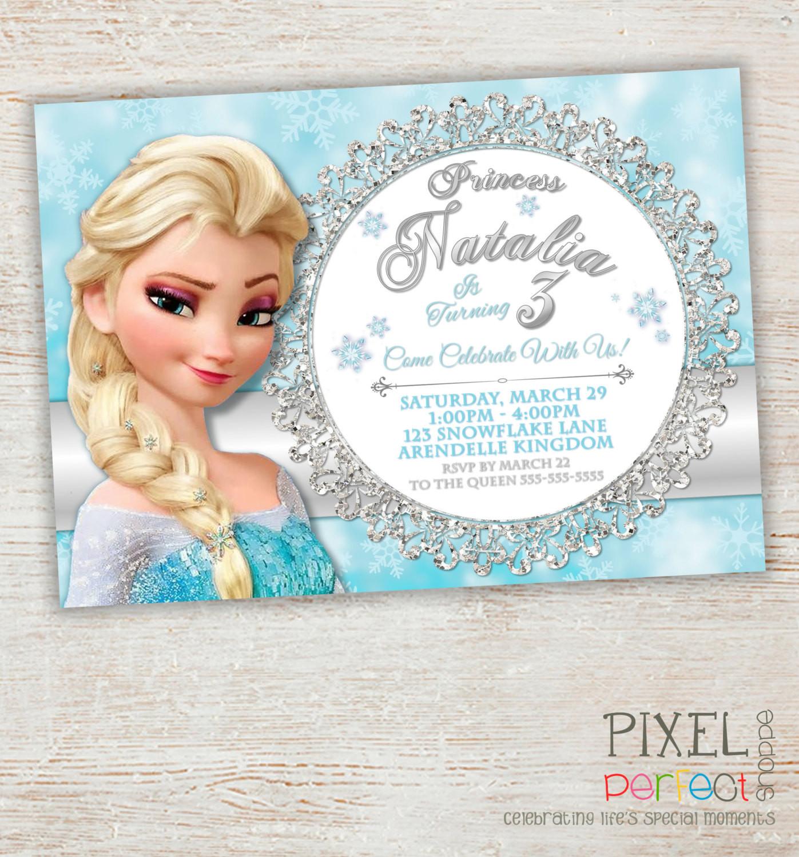 Best ideas about Frozen Birthday Party Invitations . Save or Pin Frozen Birthday Invitation Frozen Birthday Party Frozen Now.