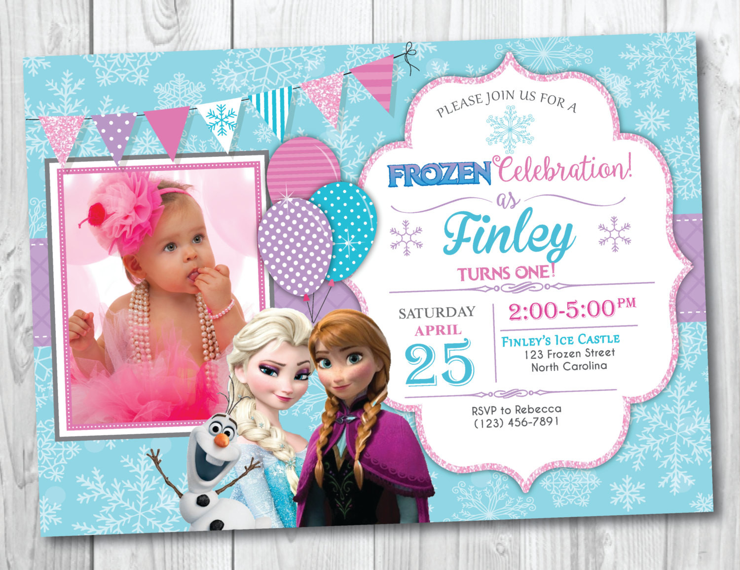 Best ideas about Frozen Birthday Party Invitations . Save or Pin Frozen Birthday Invitation Printable With Frozen Now.
