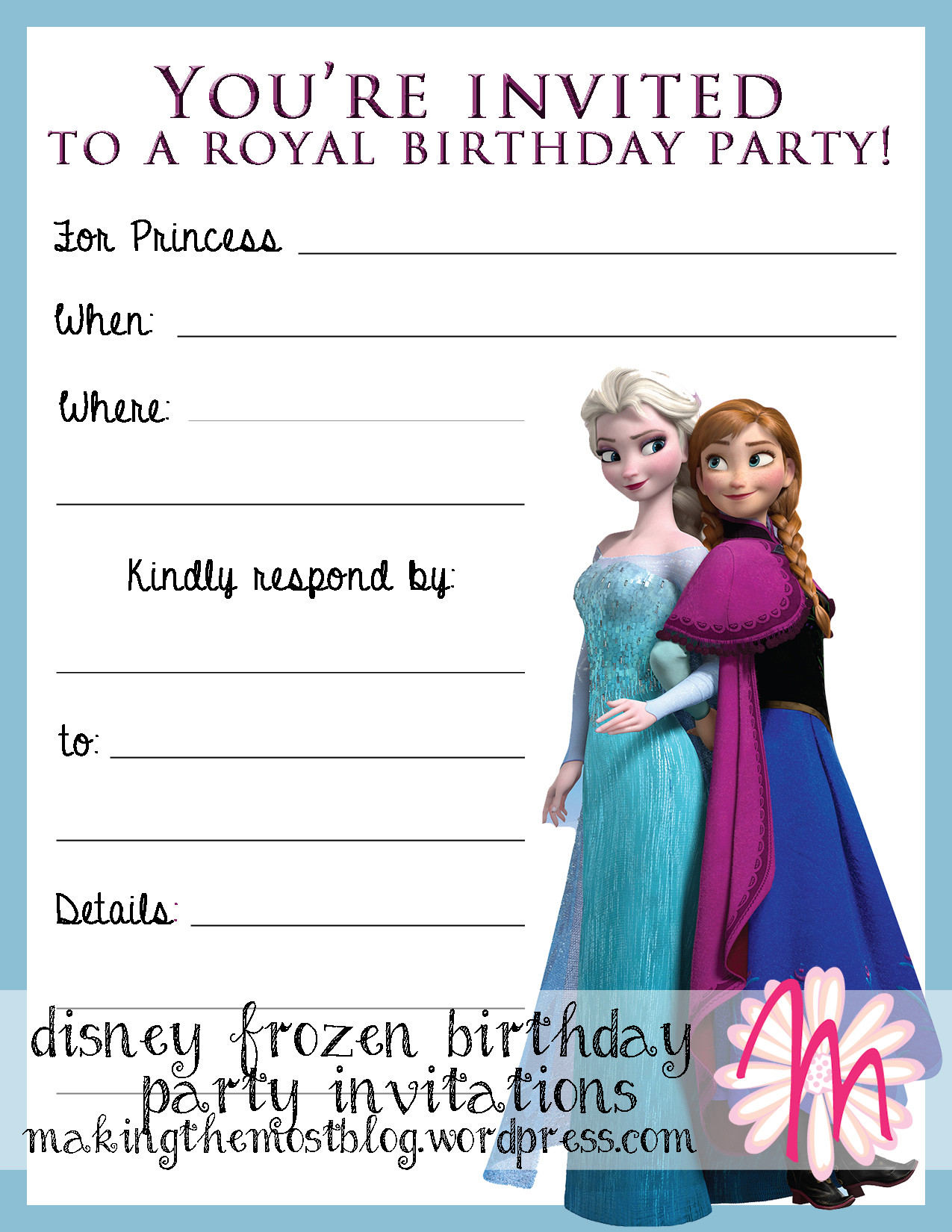 Best ideas about Frozen Birthday Party Invitations . Save or Pin 301 Moved Permanently Now.