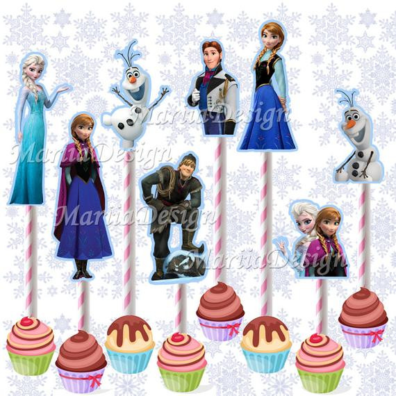 Best ideas about Frozen Character For Birthday Party . Save or Pin Frozen Characters Printable Frozen Birthday Party Characters Now.