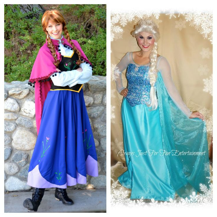 Best ideas about Frozen Character For Birthday Party . Save or Pin Princess Anna & Queen Elsa are available & booking out Now.