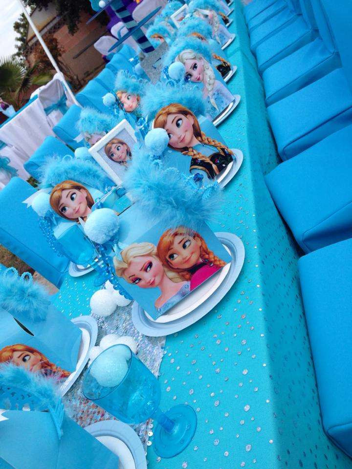 Best ideas about Frozen Character For Birthday Party . Save or Pin Disney Frozen Birthday Party Ideas 5 of 27 Now.