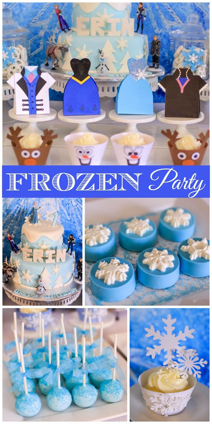 Best ideas about Frozen Character For Birthday Party . Save or Pin 963 best Frozen Party Ideas images on Pinterest Now.