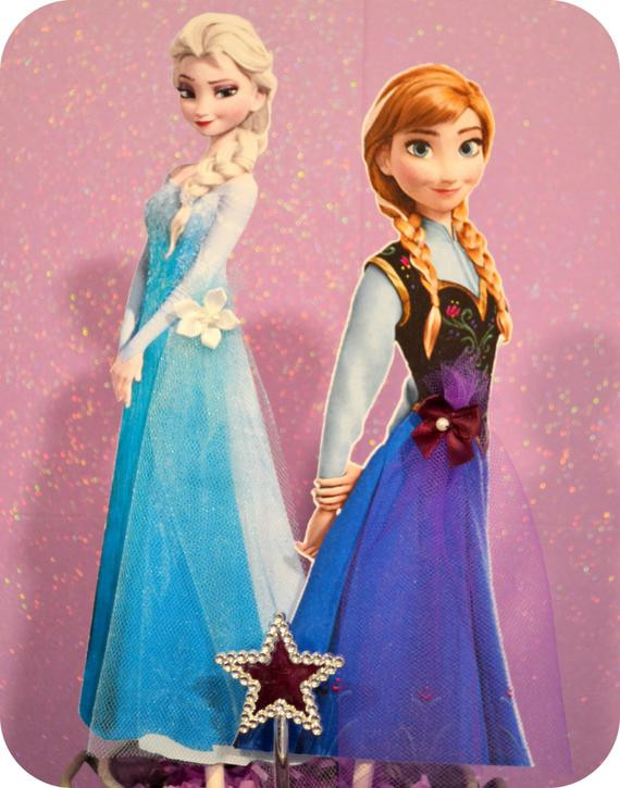 Best ideas about Frozen Character For Birthday Party . Save or Pin Disney Frozen Birthday Party Characters by KraftsbyKaleigh Now.