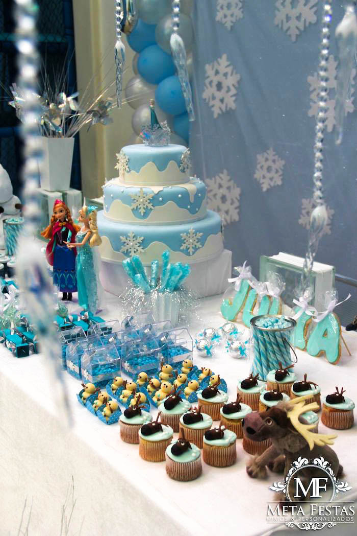Best ideas about Frozen Themed Birthday Party . Save or Pin Kara s Party Ideas Frozen Themed Birthday Party Ideas Now.