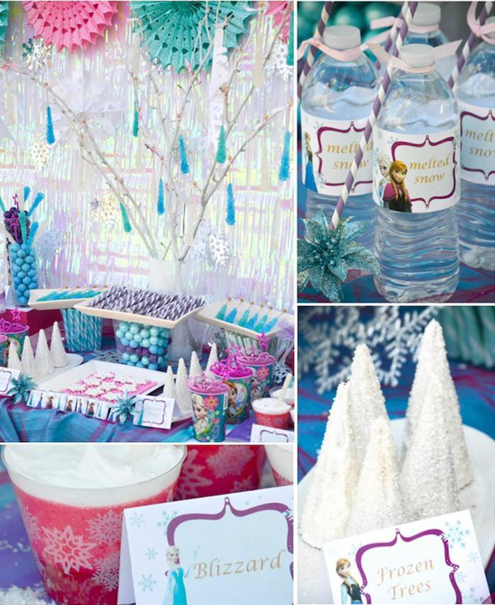 Best ideas about Frozen Themed Birthday Party . Save or Pin 27 Easy Frozen Birthday Party Ideas For An Unfor table Now.