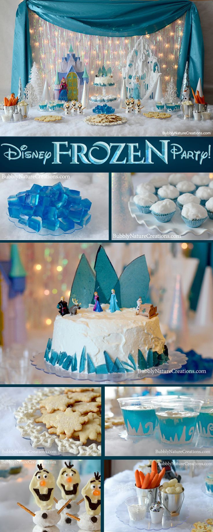 Best ideas about Frozen Themed Birthday Party . Save or Pin Disney Frozen Birthday Party Theme Now.