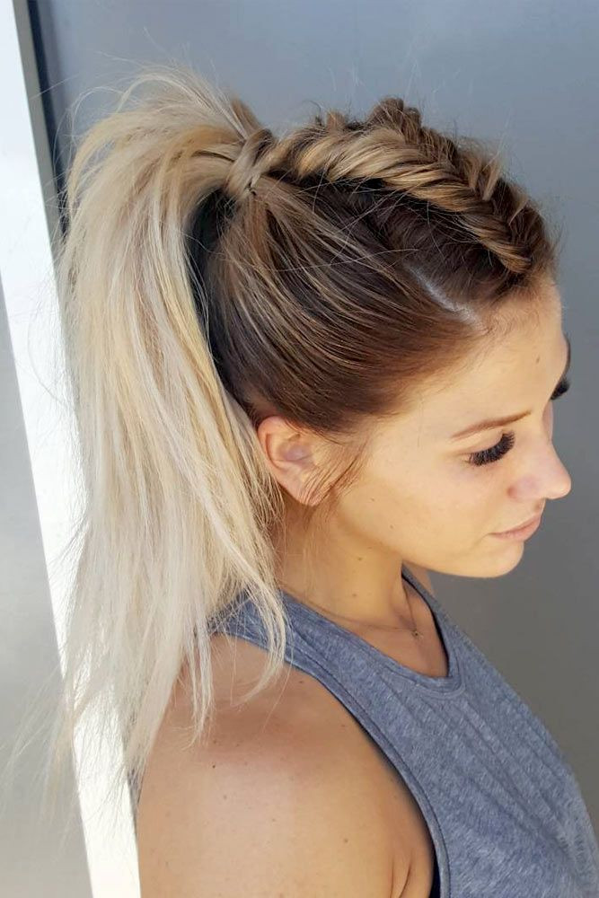 Best ideas about Fun And Easy Hairstyles . Save or Pin 25 best Short Ponytail Hairstyles trending ideas on Now.