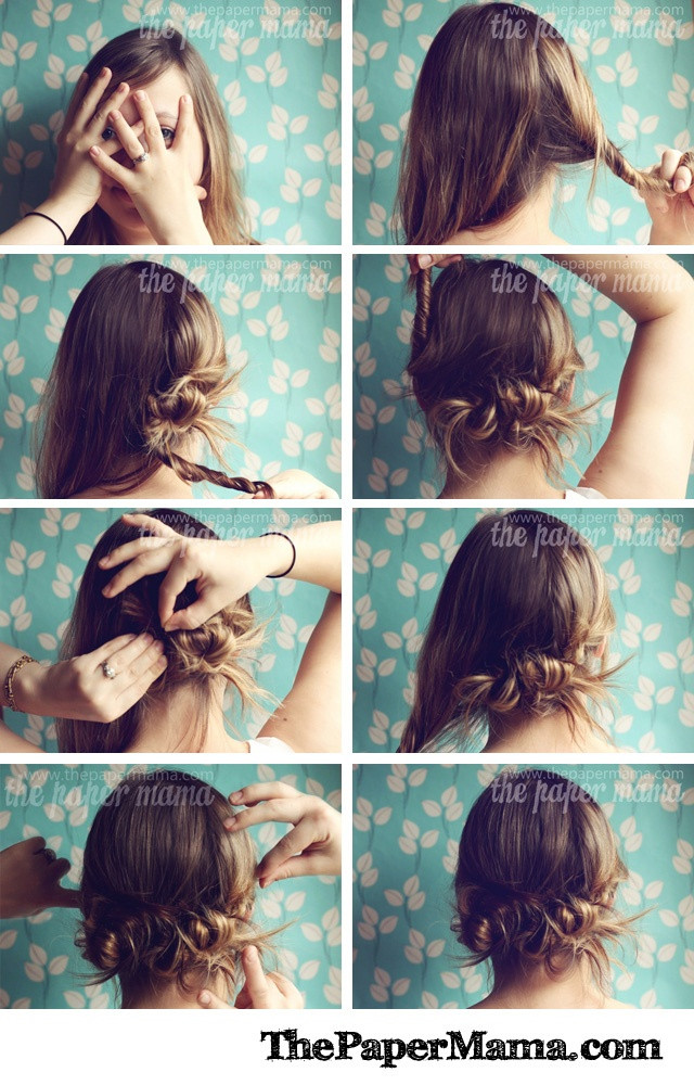 Best ideas about Fun And Easy Hairstyles . Save or Pin 20 Clever And Interesting Tutorials For Your Hairstyle Now.
