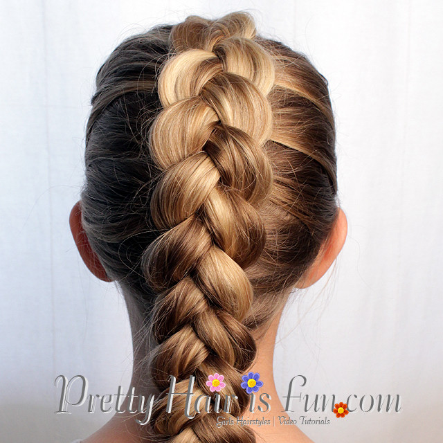 Best ideas about Fun And Easy Hairstyles . Save or Pin Pretty Hair is Fun Easy Pulled Dutch Braid – Pretty Hair Now.