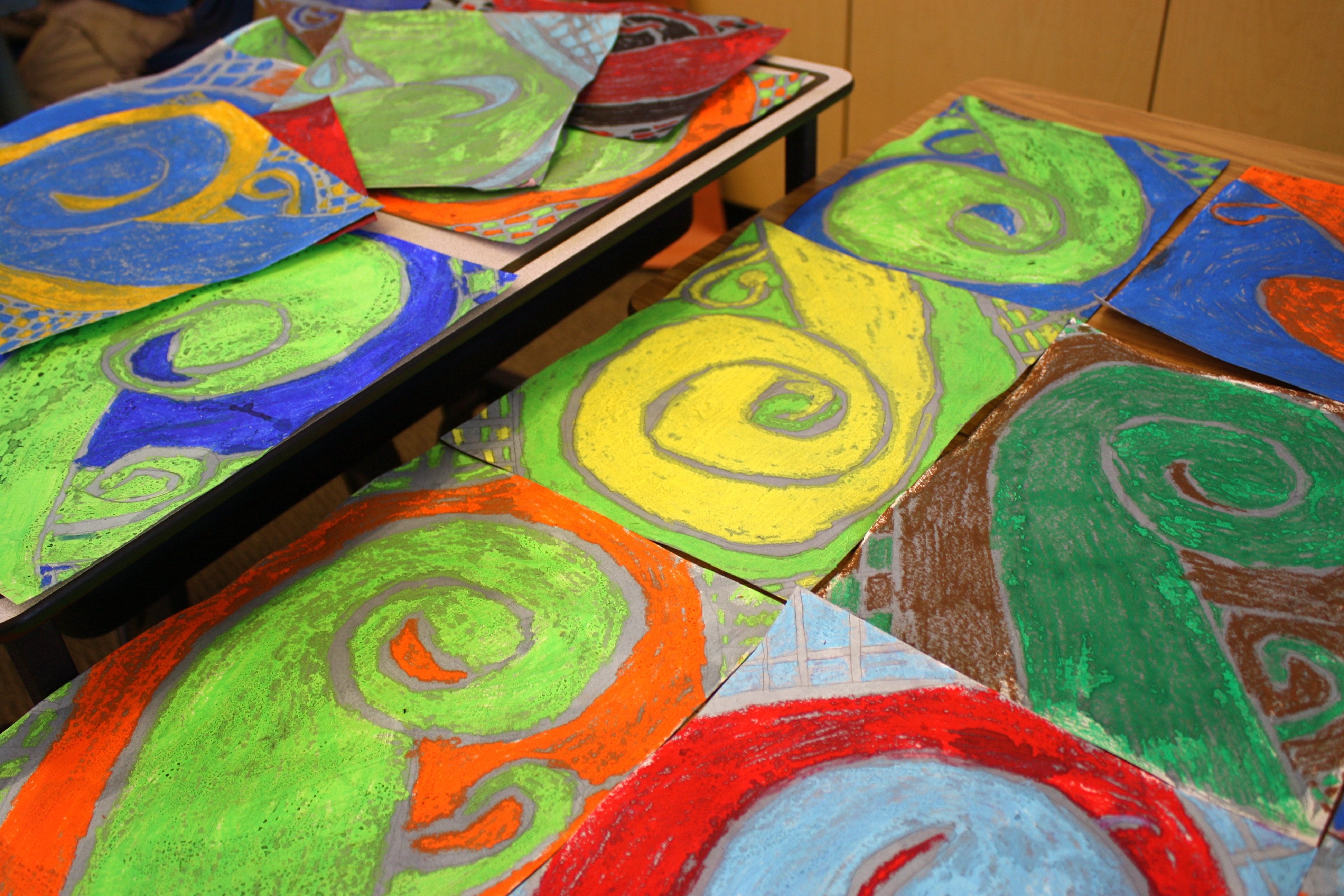 Best ideas about Fun Art Projects . Save or Pin Art Projects for Kids Oil Pastels & Watercolors Buggy Now.