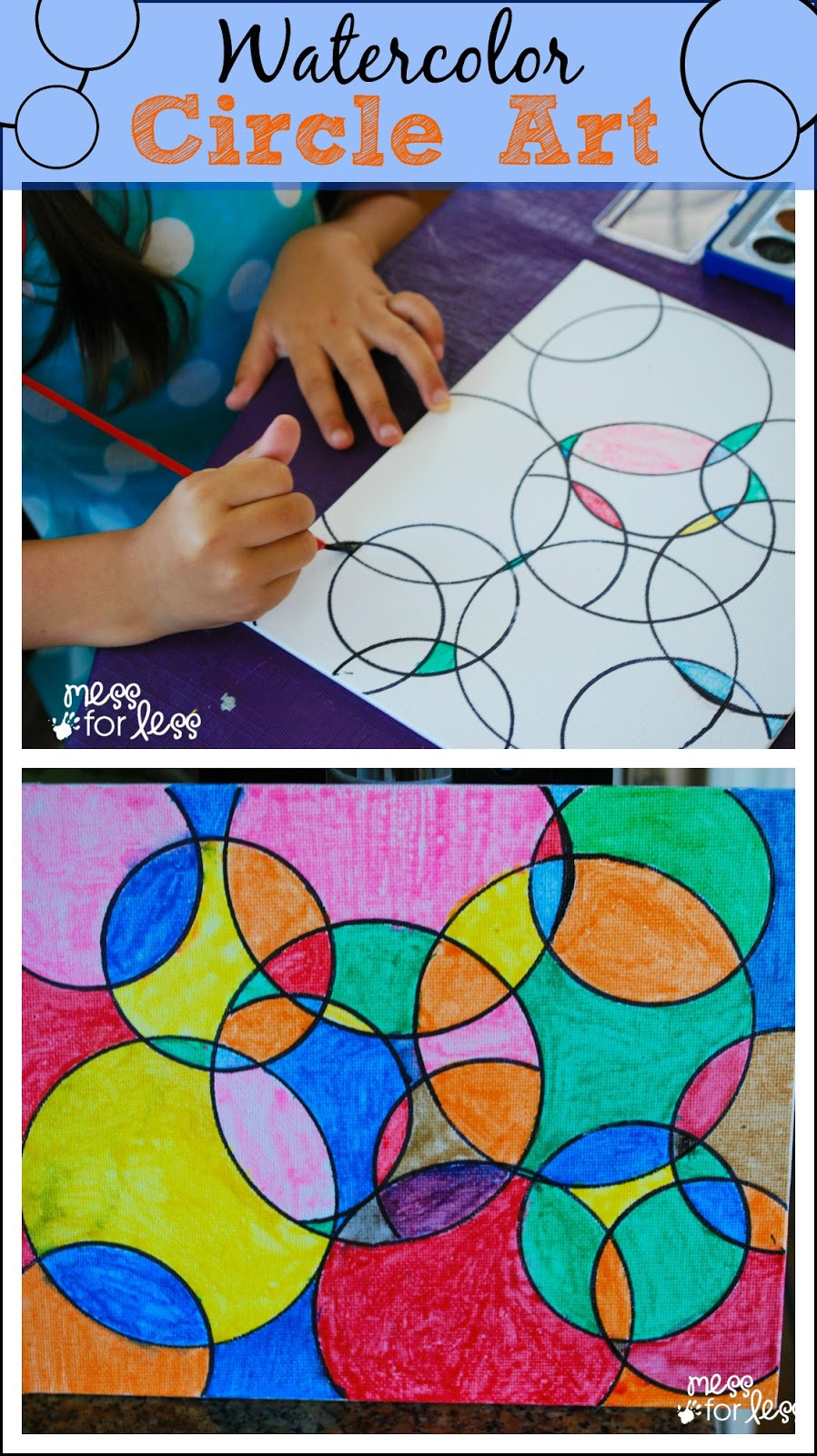 Best ideas about Fun Art Projects . Save or Pin Easy Kid Made Bookmark Mess for Less Now.
