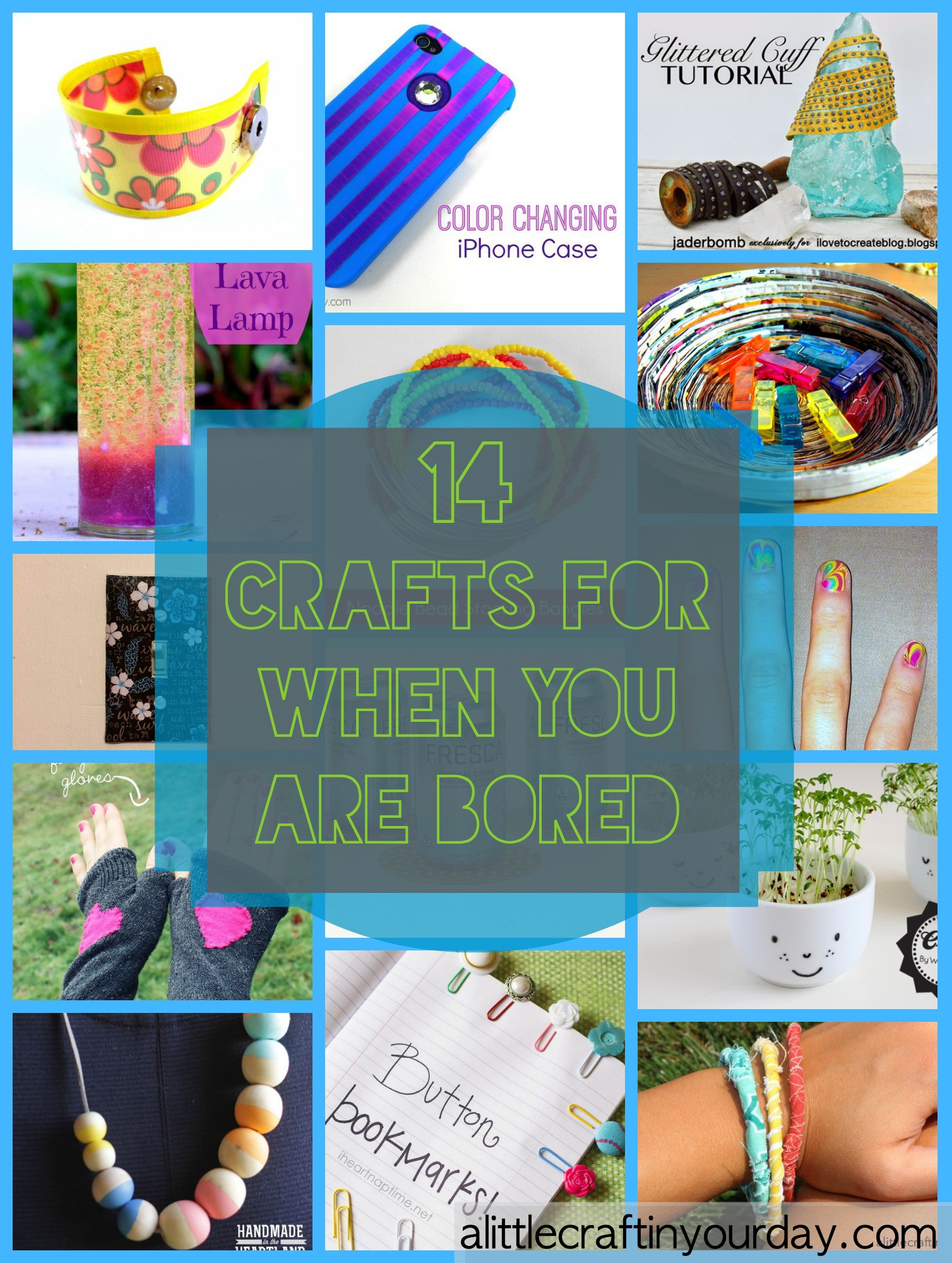 Best ideas about Fun Crafts To Do When Bored . Save or Pin 14 Craft For When You Are Bored A Little Craft In Your Day Now.
