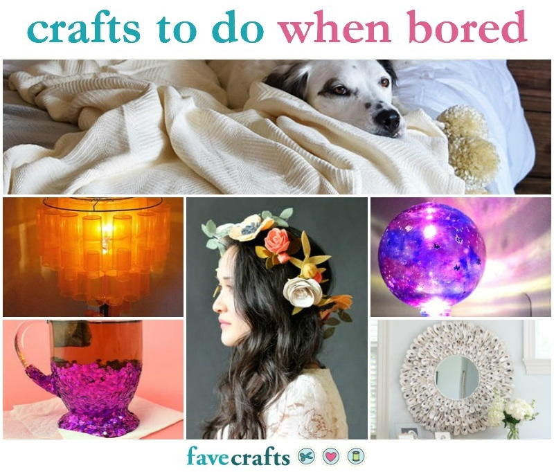 Best ideas about Fun Crafts To Do When Bored . Save or Pin 42 Crafts to Do When Bored Now.