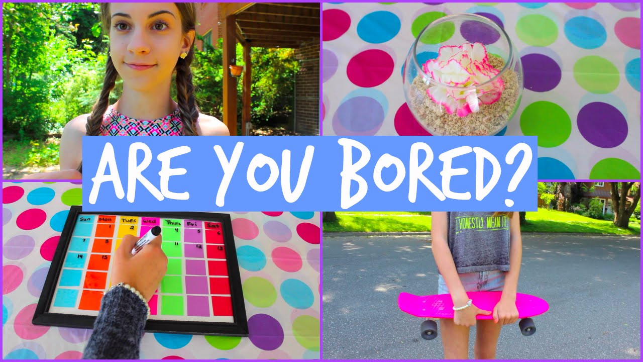 Best ideas about Fun Crafts To Do When Bored . Save or Pin What to do When You re Bored in the Summer DIY s Now.