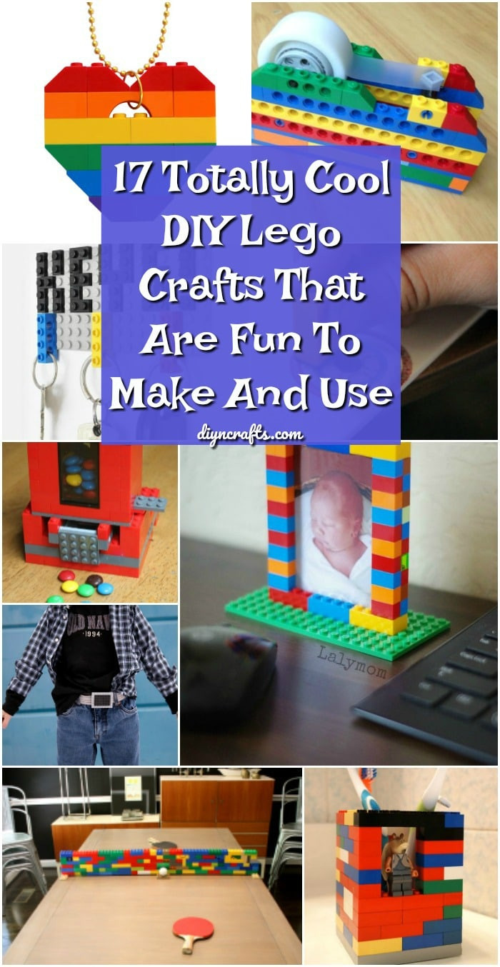Best ideas about Fun DIY Crafts . Save or Pin 17 Totally Cool DIY Lego Crafts That Are Fun To Make And Now.
