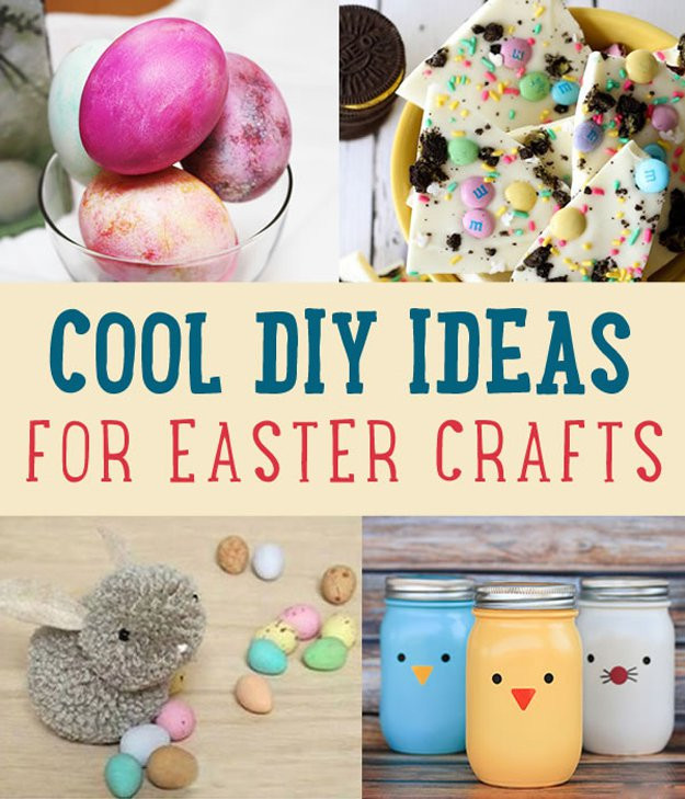 Best ideas about Fun DIY Crafts . Save or Pin Cool DIY Easter Crafts Ideas DIY Ready Now.