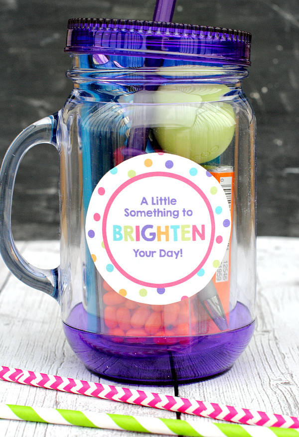 Best ideas about Fun Gift Ideas For Friend . Save or Pin Brighten Your Day Gift Idea for Friends Crazy Little Now.